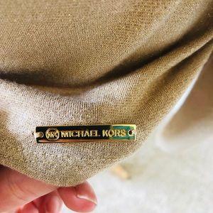Michael Kors Tops - Michael Kors Gold Sparkle Tunic